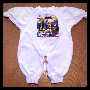 Lil people cotton one piece - Size Small